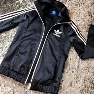Navy blue adidas jacket